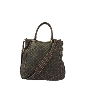 Auth Louis Vuitton Handbag Monogram Mini Lin Besace Angele M95617