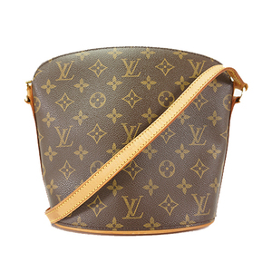 Auth Louis Vuitton Shoulder Bag Monogram Drouot M51290