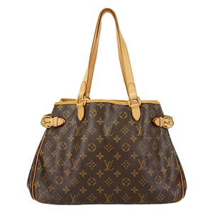 Auth Louis Vuitton Tote Bag Monogram Batignolles Horizontal M51154