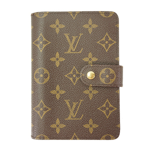Auth Louis Vuitton Wallet Porte Papier Zippe Monogram M61207