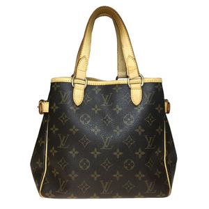 Auth Louis Vuitton Monogram Batignolles M51156 Women's Handbag