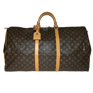 【中古】 ルイ・ヴィトン(Louis Vuitton) モノグラム M41422 キーポル60 ボストンバッグ