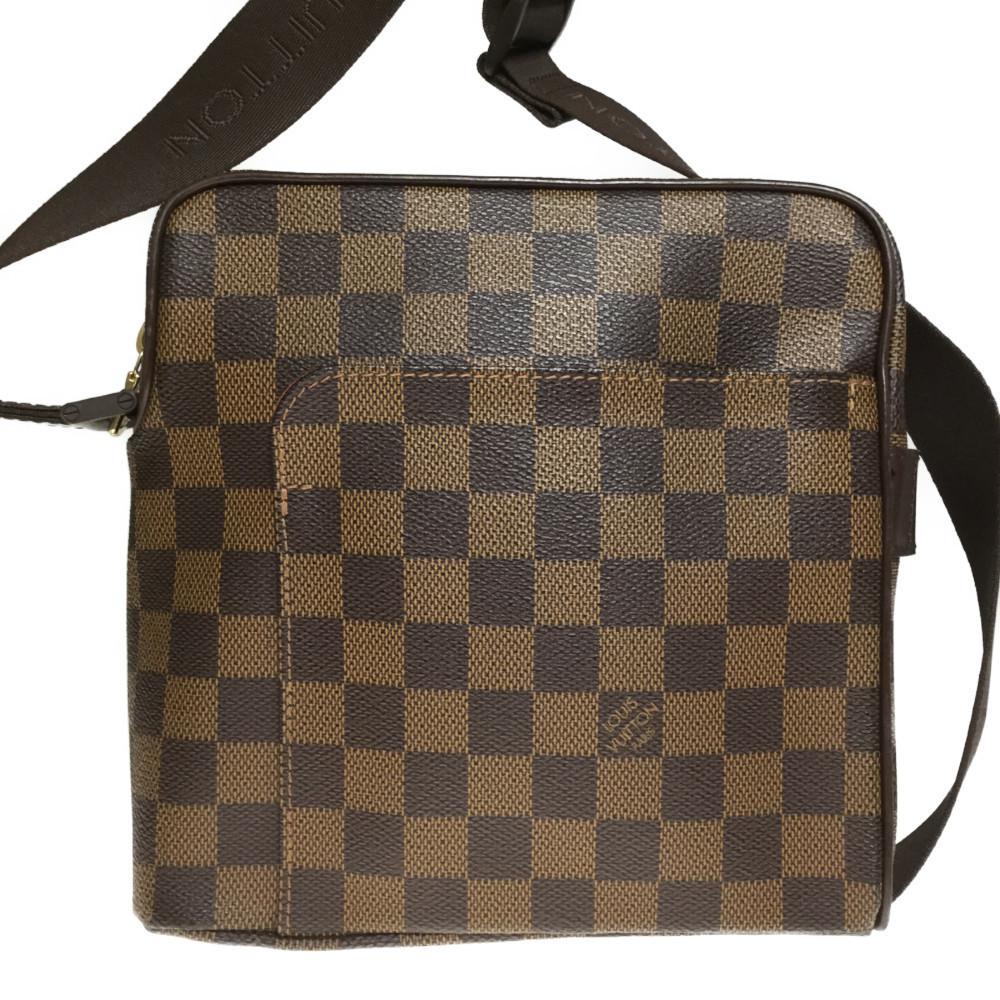 ルイ・ヴィトン(Louis Vuitton) ダミエ N41442 オラフPM ショルダーバッグ エベヌ