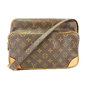 Auth Louis Vuitton Shoulder Bag Monogram Nile M45244