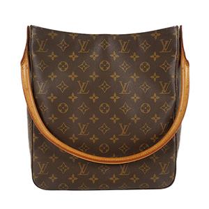 Auth Louis Vuitton Shoulder Bag Monogram LoopingGM M51145 Lady's