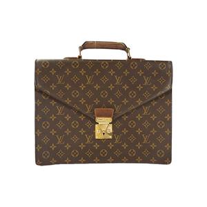 Auth Louis Vuitton Briefcase Monogram Serviette Conseiller M53331