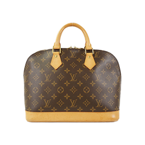 Auth Louis Vuitton Handbag Monogram Alma M51130