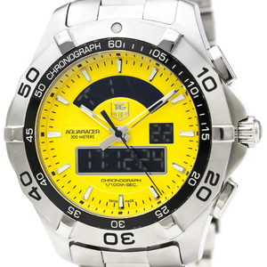 Tag Heuer Aquaracer Quartz Stainless Steel Men's Sports Watch CAF1011
