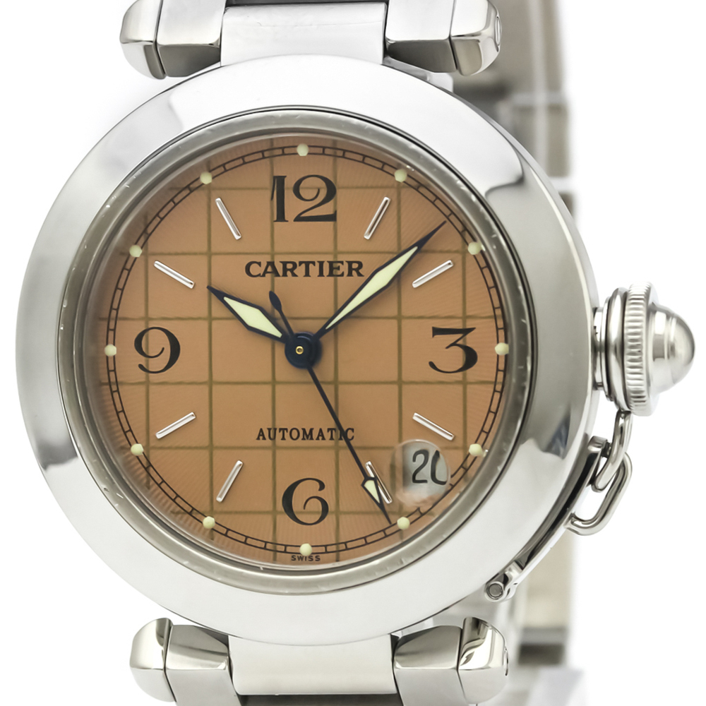 ed10096e3561 Cartier Pasha C Automatic Stainless Steel Unisex Dress Watch W31024M7