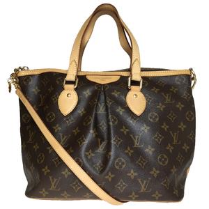 Auth Louis Vuitton Monogram M40145 Palermo PM Women's Shoulder Bag