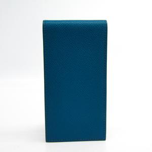 エルメス(Hermes) エプソン ノート ブルー メモ帳カバー