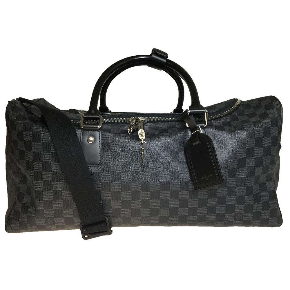 ルイ・ヴィトン(Louis Vuitton) ダミエ・グラフィット N48189 ロードスター50 メンズ ボストンバッグ