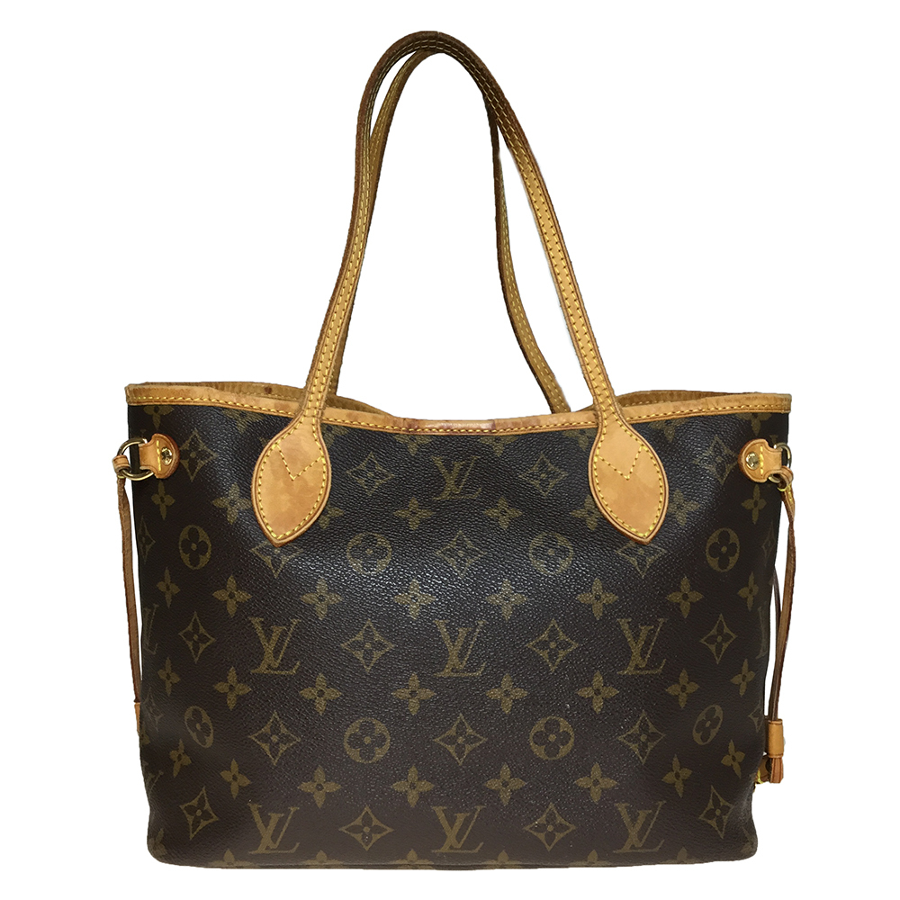3523249c6d79 Auth Louis Vuitton Monogram M40155 Neverfull PM Women s Tote Bag