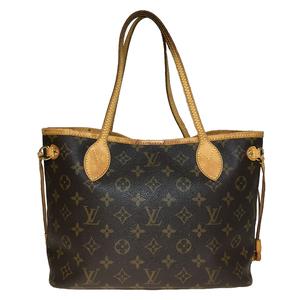 Auth Louis Vuitton Monogram M40155 Neverfull PM Women's Tote Bag