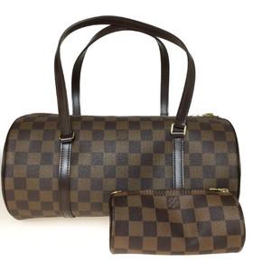Auth Louis Vuitton Damier M51303 Papillon 30 Hand Bag