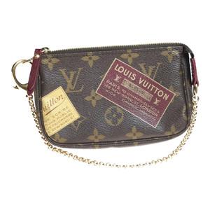 7eff2ffa447f Auth Louis Vuitton Monogram M63798 Handbag Mini Pochette accesoir