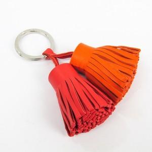 Hermes Carmen Keyring (Pink,Orange) Uno Dos