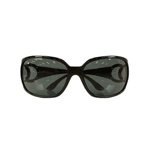 Auth Chanel sunglasses Cocomark 6014 Black Women's Foldable Sunglasses