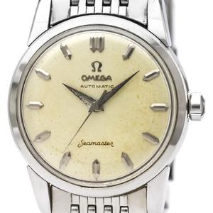 【OMEGA】オメガ シーマスター Cal.501 ステンレススチール 自動巻き メンズ 時計 2846