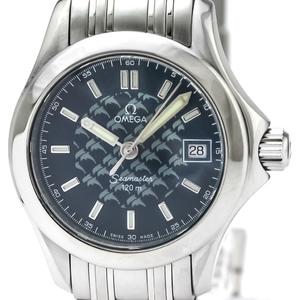 【OMEGA】オメガ シーマスター 120M ジャックマイヨール 2002 限定 ステンレススチール クォーツ レディース 時計 2588.80
