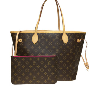 Auth Louis Vuitton Monogram Neverfull MM M41178 Women's Tote Bag
