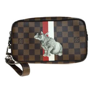 ルイ・ヴィトン(Louis Vuitton) ダミエ N63350 ポシェット ヴェルガ チャップマン・ブラザーズ セカンドバッグ クラッチバッグ