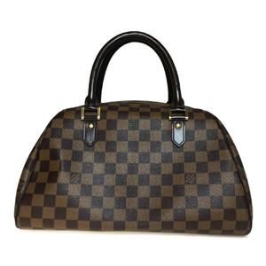 Auth Louis Vuitton Damier N41434 Handbag Ebene Libera MM
