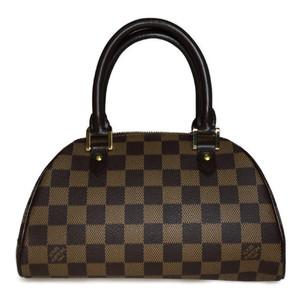Auth Louis Vuitton Damier N41436 Libera Mini Handbag Ebene