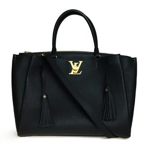 ルイ・ヴィトン(Louis Vuitton) M54569 ロックミート 2WAY レザー ノワール ハンドバッグ ショルダーバッグ