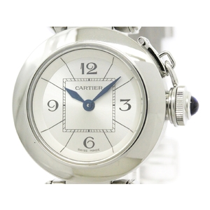Cartier Miss Pasha Quartz Stainless Steel Women's Dress Watch W3140007