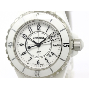 Chanel J12 Quartz Ceramic Women's Sports Watch H0968