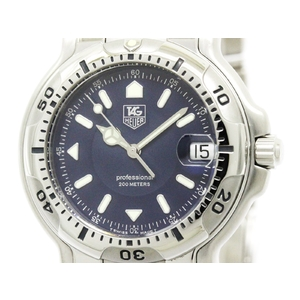 Tag Heuer 6000 Series Quartz Stainless Steel Men's Sports Watch WH1115