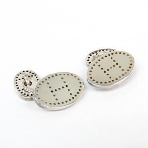 Hermes Silver 925 Cufflinks Silver