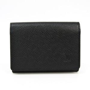 Louis Vuitton Taiga Taiga Leather Business Card Case Ardoise Enveloppe cartes de visite M30922
