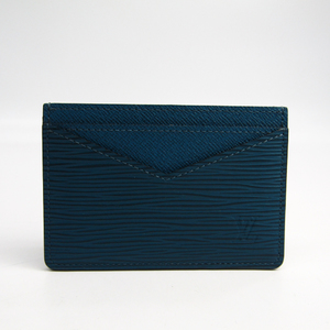 Louis Vuitton Epi Neo · Porte-cartes M67211 Epi Leather Card Case Bleu Celeste