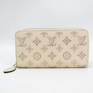 ルイ・ヴィトン(Louis Vuitton) ジッピー・ウォレット M61869 レディース マヒナ 長財布(二つ折り) イヴォワール