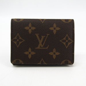 Louis Vuitton Monogram Monogram Business Card Case Monogram Enveloppe Carte De Visite M63801