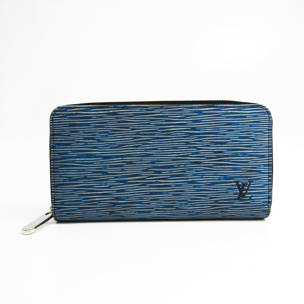 detailed look f0368 2e627 ルイ・ヴィトン(Louis Vuitton) エピ・デニム ジッピー・ウォレット M61862 レディース エピ・デニムレザー 長財布(二つ折り)  ブルー | elady.com
