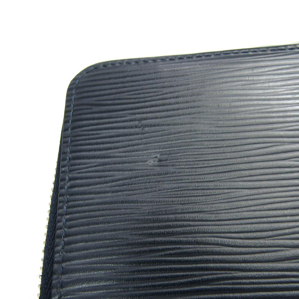 dd5b0631467 Louis Vuitton Epi Zippy Wallet Vertical M61828 Men's Epi Leather Long  Wallet (bi-fold) Navy Blue   elady.com