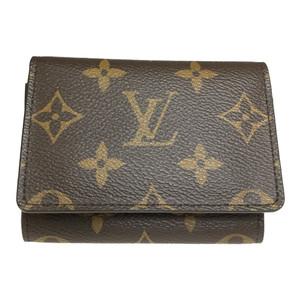 225dc224d6af4 Auth Louis Vuitton Monogram M62920 envelope cult de vijitt Business Card  Case