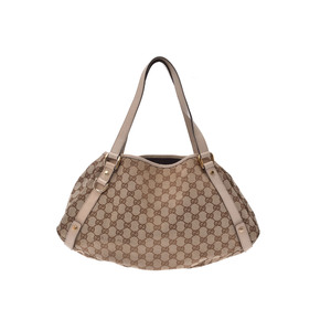 Gucci GG Canvas Canvas Bag Beige