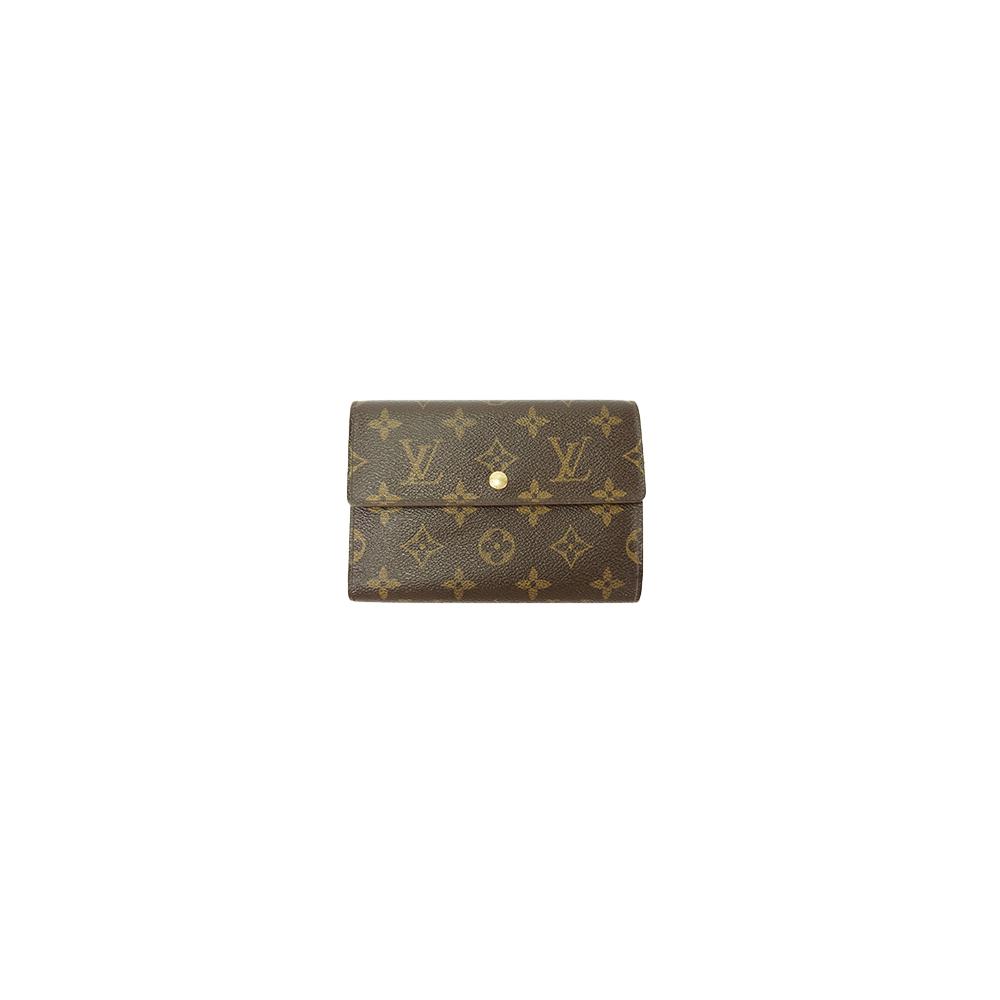76c41e8c0934 Auth Louis Vuitton Wallet Monogram Porte Tresor Etui Papiers M61202