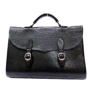 Chrome Hearts Men's Leather Handbag Black