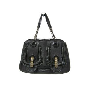 Fendi 8BN165 Women's Shoulder Bag Black