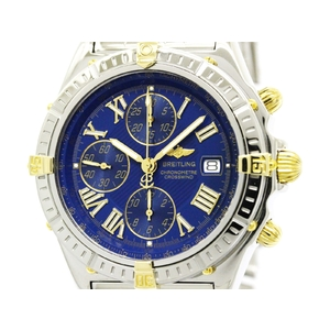 Breitling Crosswind Automatic Stainless Steel,Yellow Gold (18K) Men's Sports Watch B13355