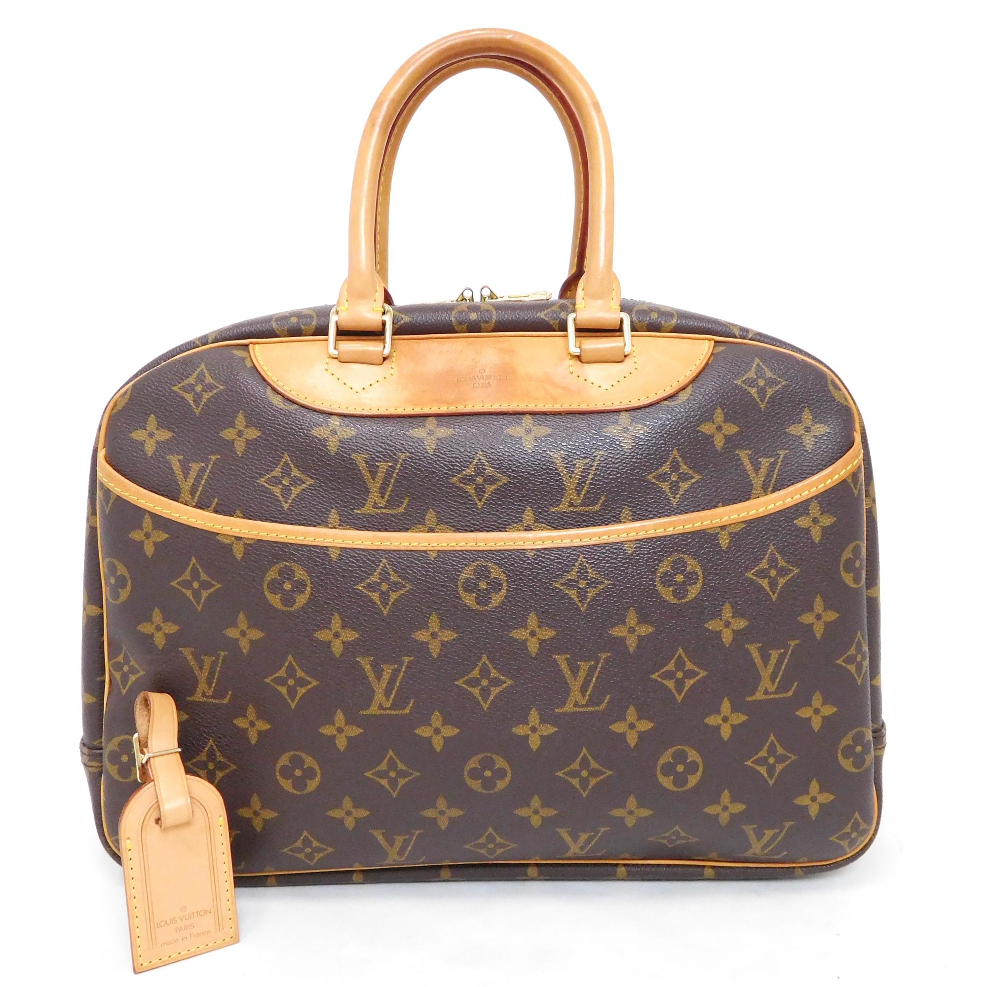 14e365341f893 Auth Louis Vuitton Monogram Deauville M47270 Women s Handbag