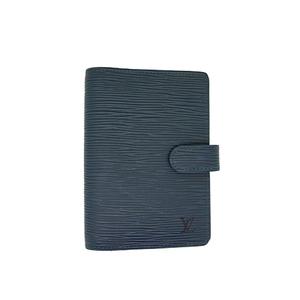 Auth Louis Vuitton Planner Cover Epi Agenda PM R20057