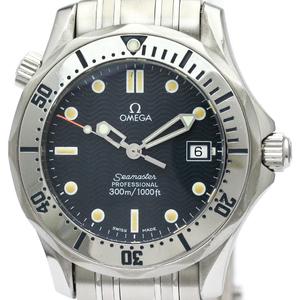 【OMEGA】オメガ シーマスター プロフェッショナル 300M ステンレススチール クォーツ ボーイズ 時計 2562.80