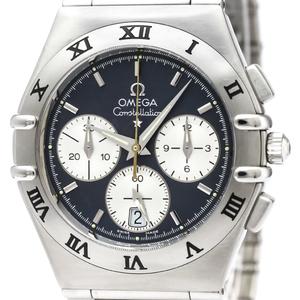【OMEGA】オメガ コンステレーション クロノグラフ ステンレススチール クォーツ メンズ 時計 1542.40