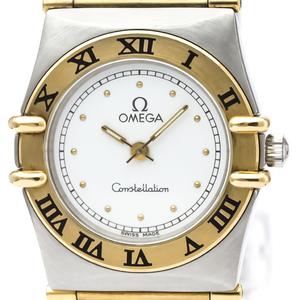 【OMEGA】オメガ コンステレーション K18 ゴールド ステンレススチール クォーツ レディース 時計 795.1080